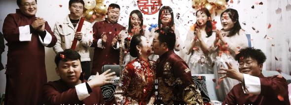 航天酒店-2020.10.24当日接亲内容快剪婚礼图片
