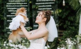 老房子·水墨红食府(欢乐谷店)-活泼俏皮婚礼图片