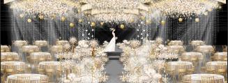 《My Princess》-灰室内梦幻婚礼照片