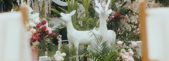 四川省成都市武侯区锦亦缘新派川菜-一座花园城堡婚礼图片