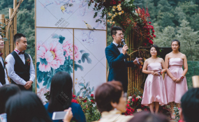 环球洲际-爱在半山之间婚礼图片