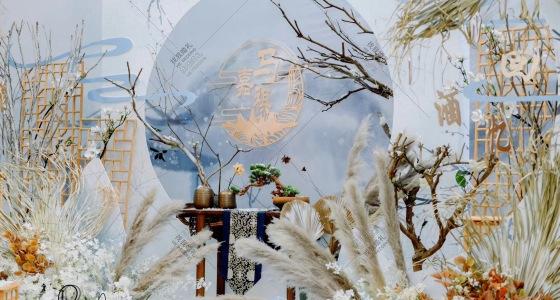 /不染/#雪景国风#视频为无光手机拍摄-婚礼策划图片