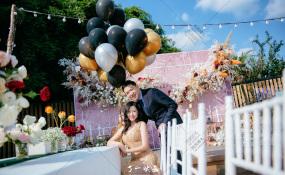 春生-三圣乡.春生婚礼图片