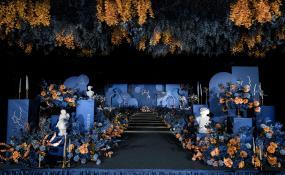 呈祥东馆酒店(龙潭总店)-《蓝色主题婚礼》婚礼图片
