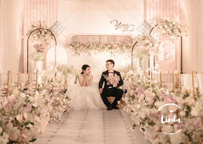 甜心宝贝计划 -白室内韩式婚礼照片