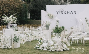 菁华花园酒店-你的名字我的姓氏婚礼图片