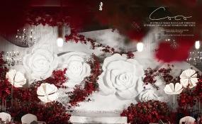 怡东国际酒店-冬日玫瑰婚礼图片