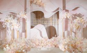 银鑫世纪酒店-粉色系婚礼   蜜意婚礼图片