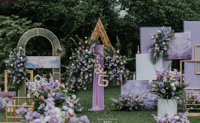 庆隆·南山高尔夫国际社区-莫奈·浮生婚礼图片