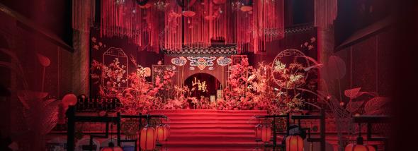 中东明园-山与曦婚礼图片