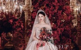 银桦半岛酒店-红黑金婚礼图片