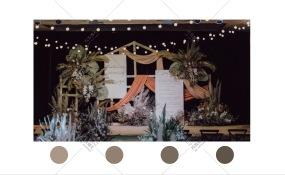 天地人和-复古婚礼图片