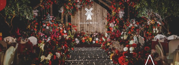 上层名人酒店-温柔的微风婚礼图片