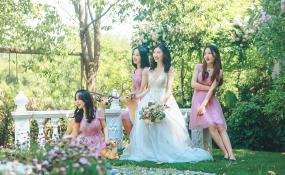 金堂蓝光观岭国际高尔夫会所-餐厅-仙境婚礼图片