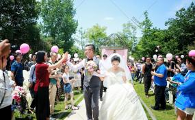 四川省成都市青羊区西苑半岛-我们在一起婚礼图片