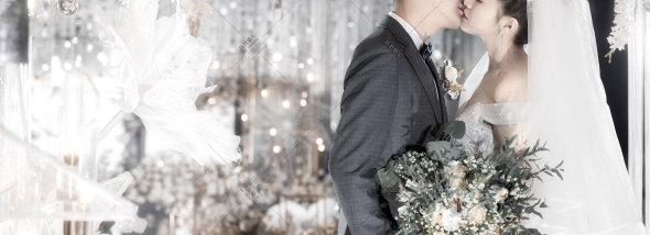 上层名人酒店-浅色系婚礼图片