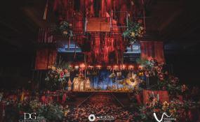 南昌瑞颐大酒店-新南轩餐厅-狼人杀主题婚礼婚礼图片