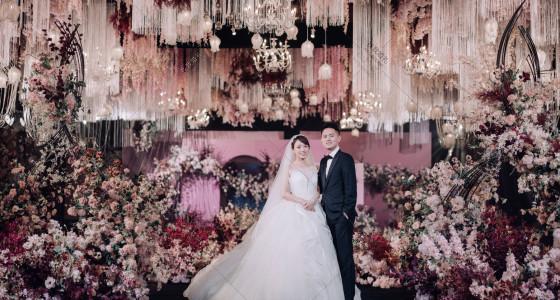 梦幻莫兰迪-婚礼策划图片
