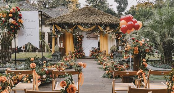 Soft Wind-婚礼策划图片
