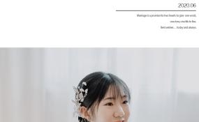 可爱新娘 案例图片