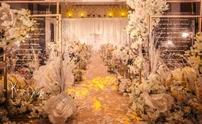 成都秦皇假日酒店-爱情是首小诗婚礼图片