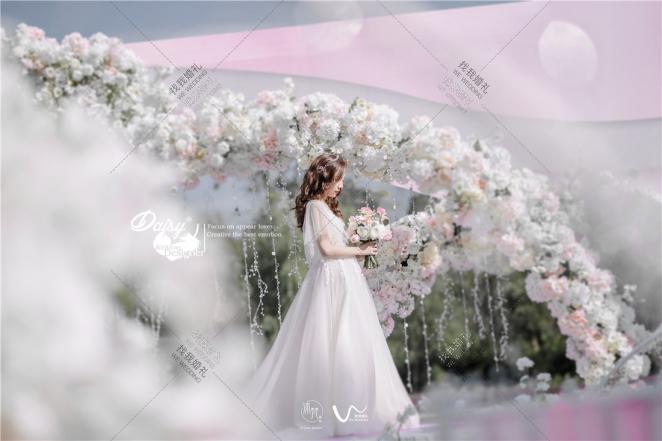 【Sunshine Forevermore】-白户外小清新婚礼照片