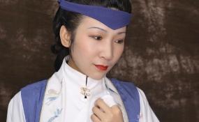 汉服中式造型 案例图片
