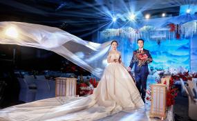 成都首座万丽酒店-天使婚礼图片