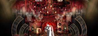 Telepathy-绿室内西式婚礼照片
