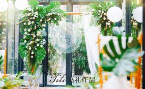 重庆市渝中区重庆天地渝半城餐厅-《给你最纯的爱》婚礼图片