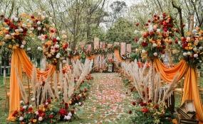 东篱翠湖-美式复古婚礼图片