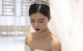 5月18新娘试妆照 案例图片