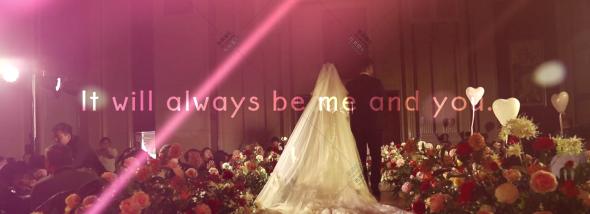 嘉莱特精典国际酒店-新娘笑的很灿烂婚礼图片