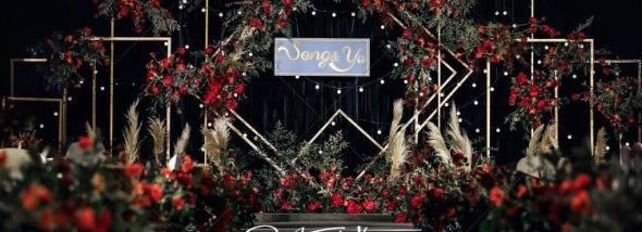 置信假期酒店-森系莫兰迪婚礼图片