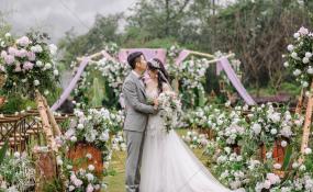 四川·雅安·倍特星月宾馆-户外婚礼图片