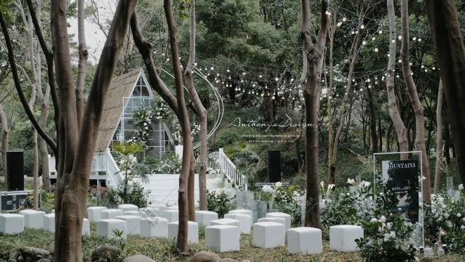 静谧の夏 | 日系清新树林-绿户外小清新婚礼照片
