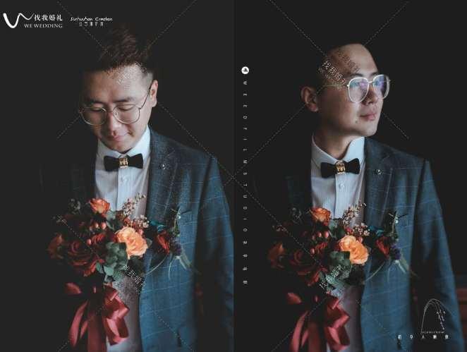 Love(L&W)-黄室内西式婚礼照片