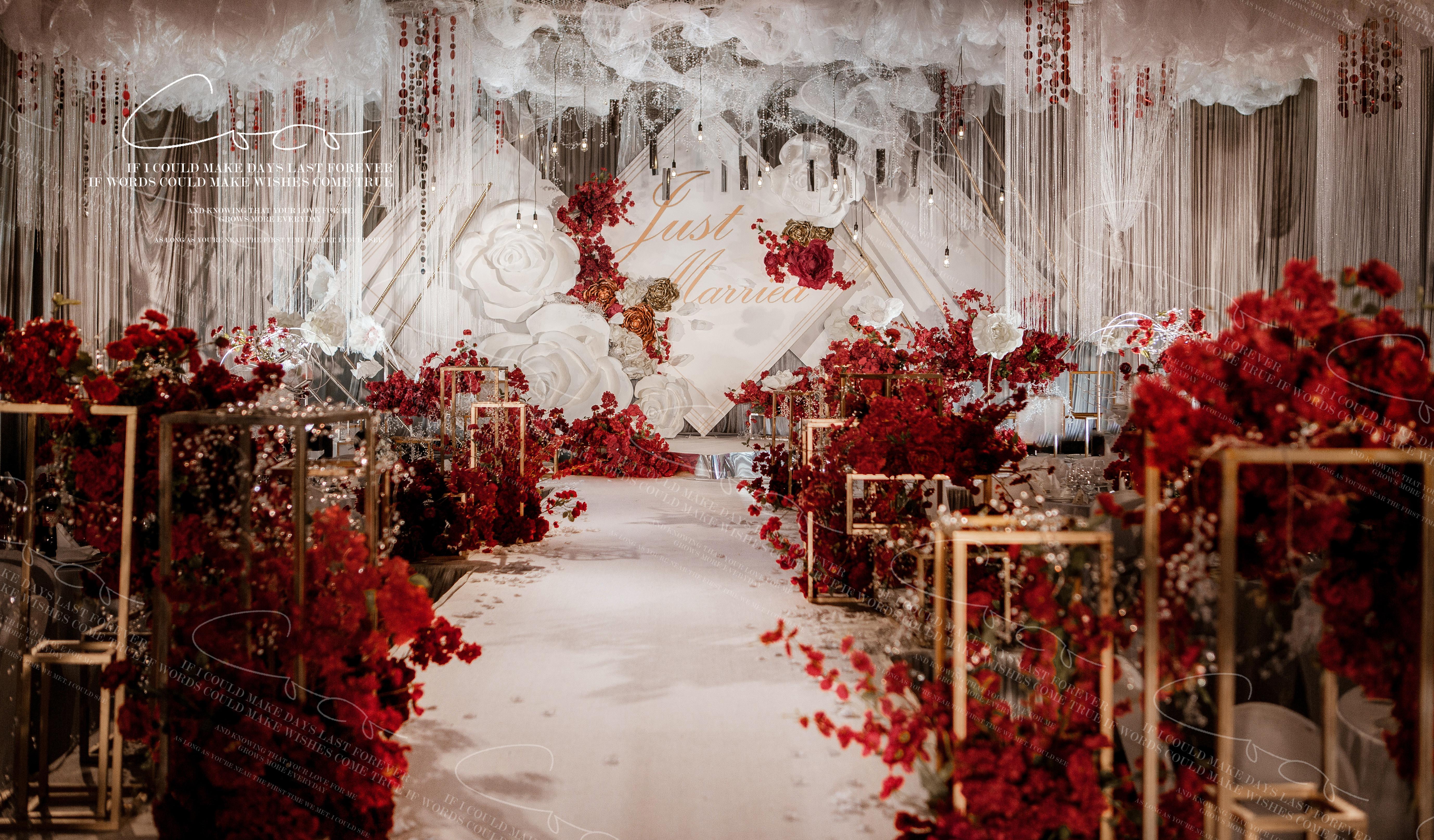 玫瑰糖婚礼图片