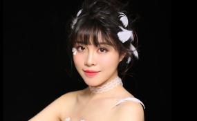 羽毛饰品新娘 案例图片