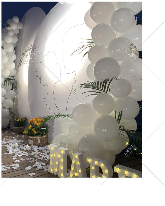 国色天香跨年小清新求婚大作战-白户外小清新婚礼照片
