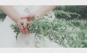 柏杨湖-小清新的浪漫婚礼图片