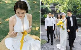 易园园林博物馆-夏日柠檬婚礼图片