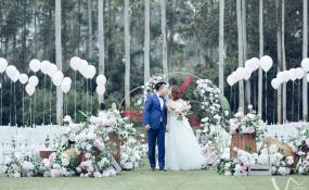 锦江区三圣街道-户外小清新婚礼图片