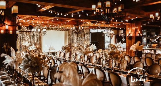 盖茨比丨BLACK GOLD-婚礼策划图片