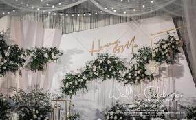 简阳城市名人酒店·宴会厅-《简约》婚礼图片