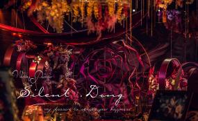 复古油画风的婚礼 案例图片