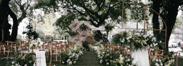 西蜀森林酒店(西南1门)-户外小清新婚礼图片