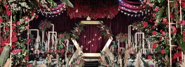 龙玺台小区-喜欢你婚礼图片