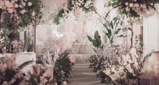【粉色热带雨林】-婚礼策划图片