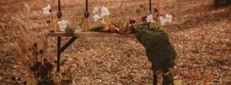 目的地婚礼·古尔沟-绿目的地复古婚礼照片